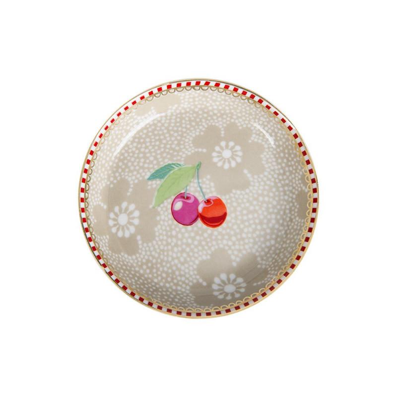Plato de cerámica mini Floral Kaki Pip Studio