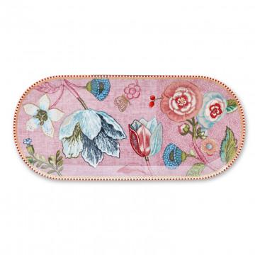 Bandeja ovalada de 33 cm Spring to Life Rosa Pip Studio