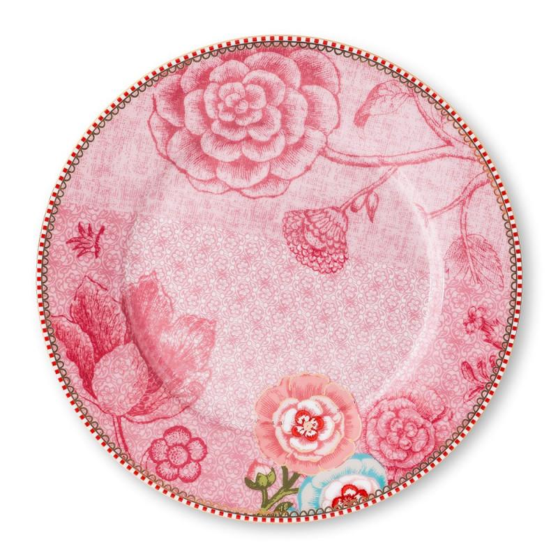 Plato de postre de cerámica 21 cm Spring to Life Rosa Pip Studio