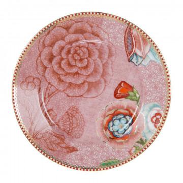 Plato de postre de cerámica 17 cm Spring to Life Rosa Pip Studio