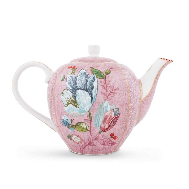 Tetera de cerámica Spring to Life Rosa Pip Studio