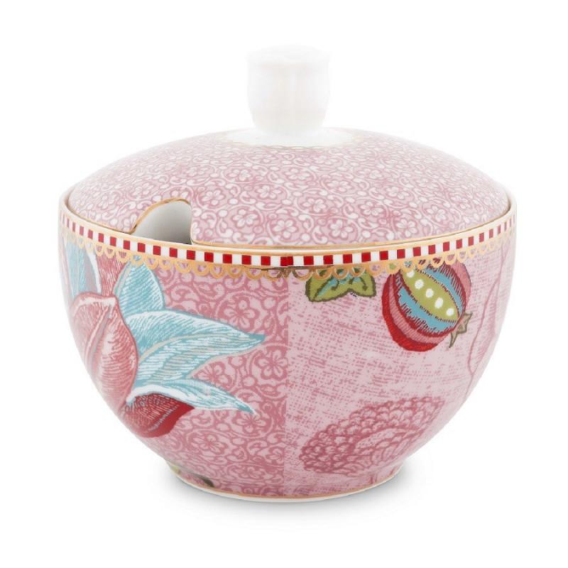 Azucarero de cerámica Spring to Life Rosa Pip Studio