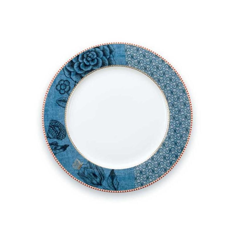 Plato de cerámica de 26 cm Spring to Life Azul Pip Studio