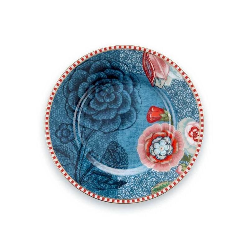 Plato de postre de cerámica 12 cm Spring to Life Azul Pip Studio