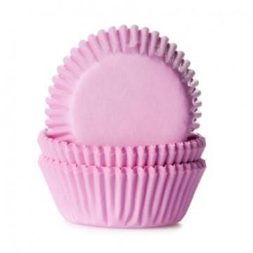 Cápsulas mini cupcakes rosa HoM