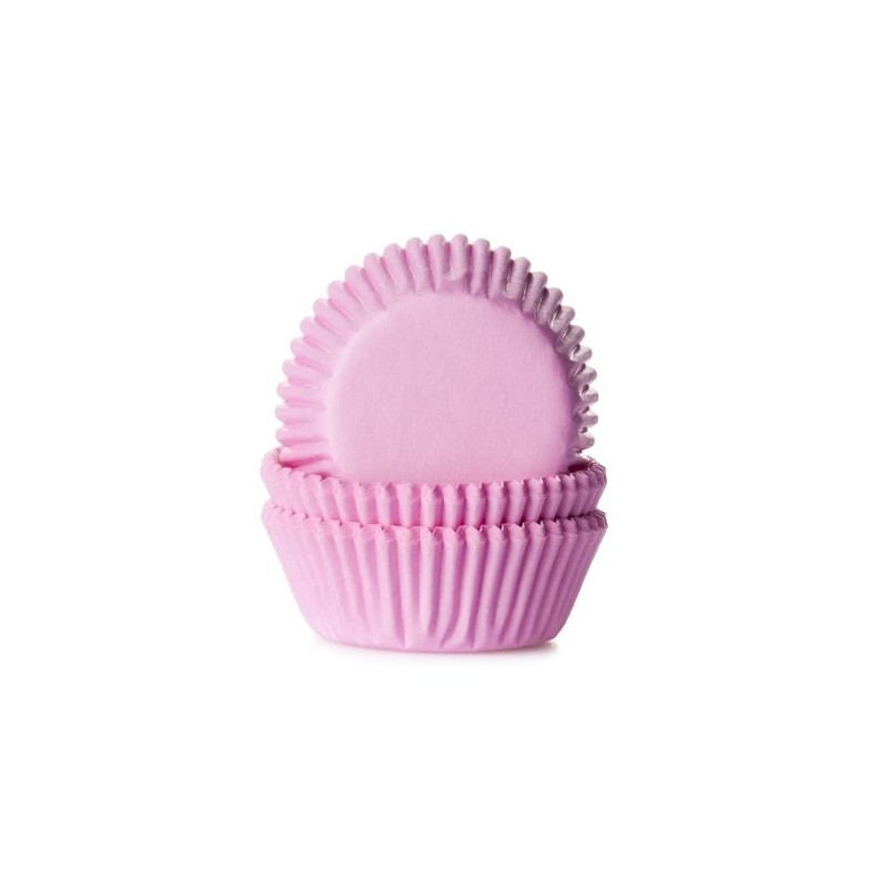 Cápsulas mini cupcakes rosa House of Marie
