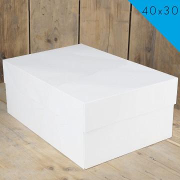 Caja para tarta rectangular 40 x 30 cm Funcakes