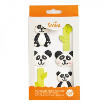 Decoraciones comestibles Oso Panda Decora Italia