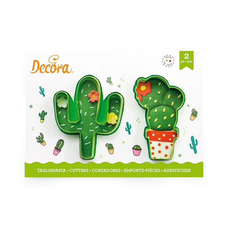 Pack de 2 cortantes Cactus Decora Italia