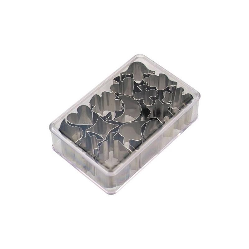 Cortante pack 15 formas mini variadas Stadler