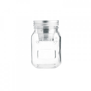 Tarro de cristal con tapa Snack on the Go 500 ml Kilner