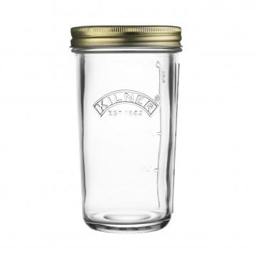 Tarro de cristal con tapa liso 500 ml Kilner