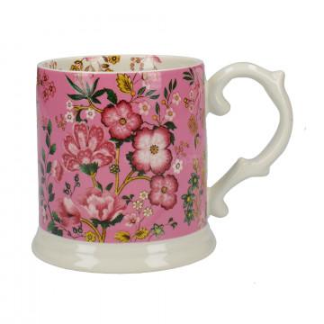 Tazón con asa Eastern Floral Rosa Creative Tops