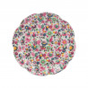 Plato de cerámica Blooming Fancy Flores Creative Tops