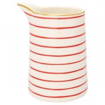 Lechera de cerámica sin asa 500 ml Sally Red Green Gate