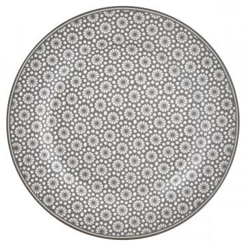 Plato de cerámica de 20 cm Kelly Warm Grey Green Gate
