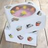 Caja de tarta de 26 cm Sweets