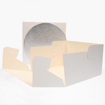 Caja de tarta y Bandeja de 25 cm Funcakes