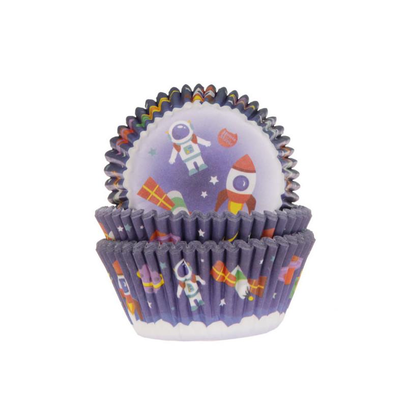 Cápsulas de cupcakes Espacio House Of Marie