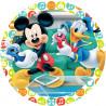 Oblea comestible Mickey y Donald Modecor