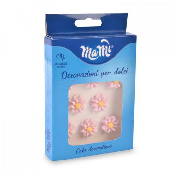 Decoraciones de azúcar Flores Rosa Modecor