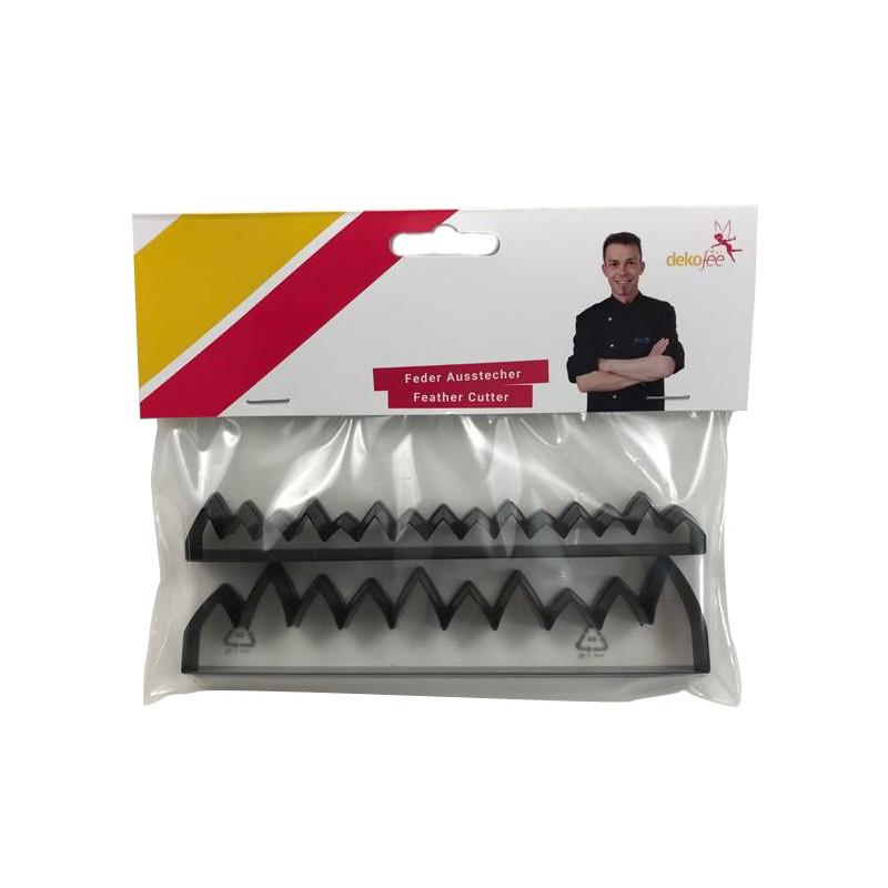 Pack de 2 Cortantes para Plumas y Hierba Dekofee