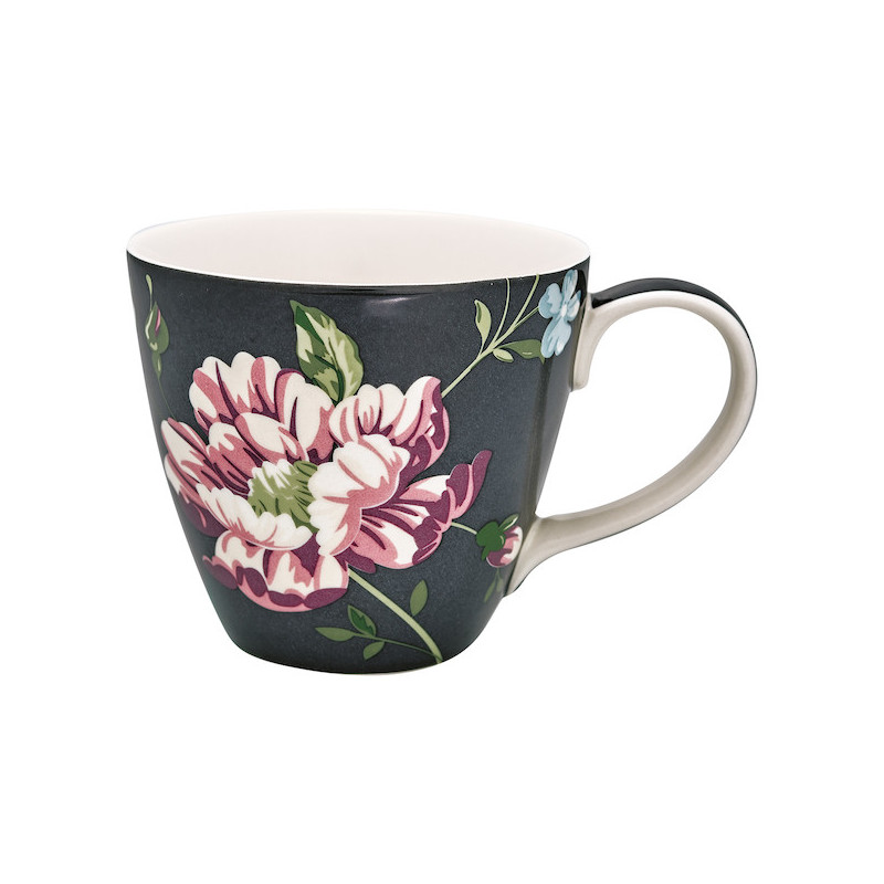 Taza con asa Penelope Dark Grey Green Gate
