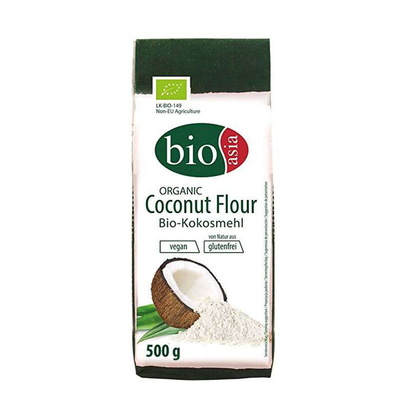 Harina de Coco Orgánica 500 gr BioAsia