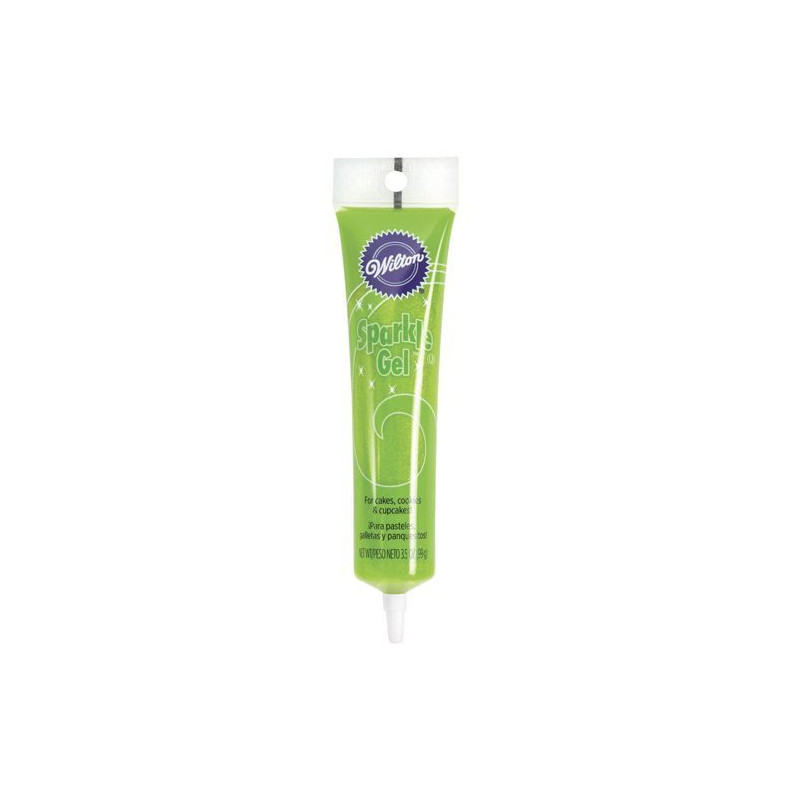 Sparkle Gel Verde Claro Wilton
