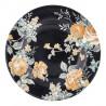 Plato de cerámica de 15 cm Josephine Black Green Gate