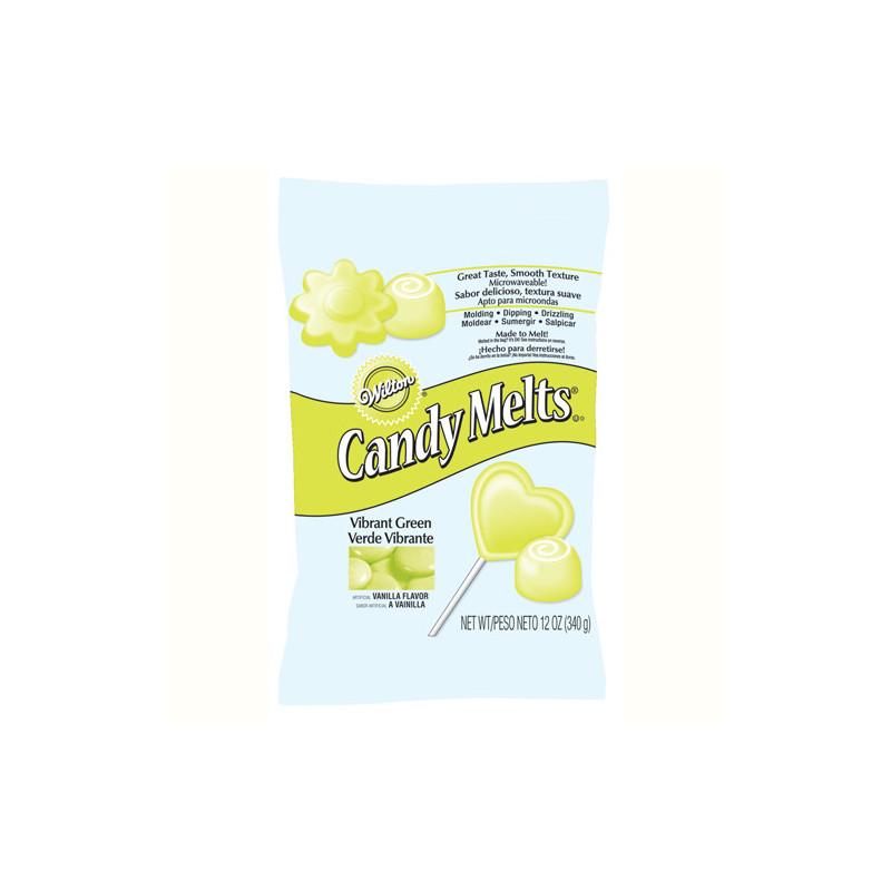 Candy Melts Verde Brillante