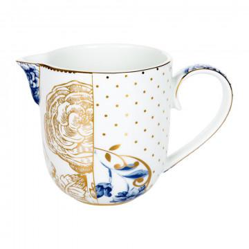Lechera de cerámica 250ml Royal Blanc Pip Studio