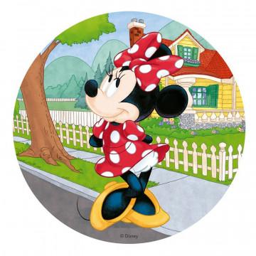 Oblea para tarta Minnie Mouse Dekora