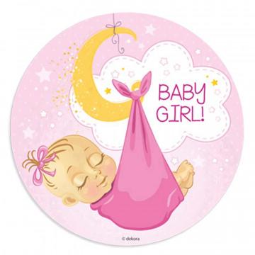 Oblea comestible Bebe Niña 1