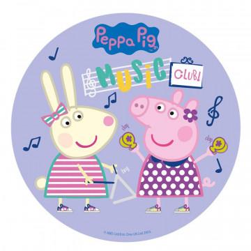 Oblea comestible Peppa Pig Music Dekora