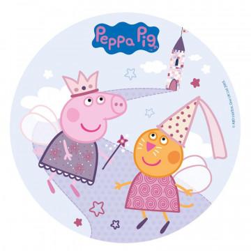 Oblea comestible Peppa Pig Hadas Dekora