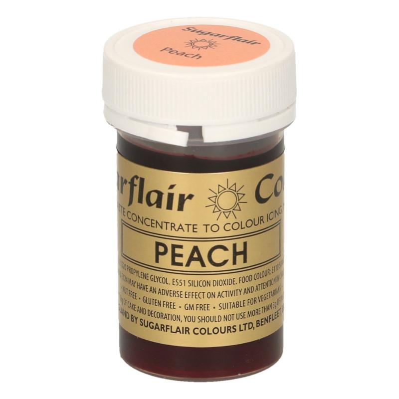 Colorante en pasta Naranja Melocotón Peach Sugarflair
