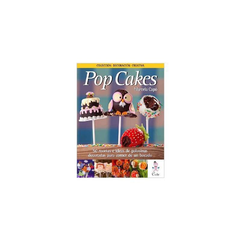 Libro Pop Cakes por Marcela Capó