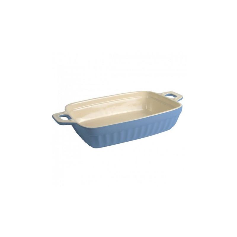 Molde rectangular de cerámica 30 cm Azul Iblaursen