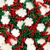 Sprinkles Copos de Nieve y Fideos rojos y verdes Wilton