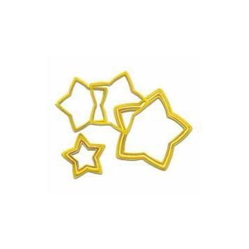 Cortante pack 6 cortantes estrella Wilton