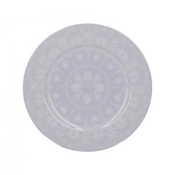 Plato de cerámica 19 cm Gris Wild Apricity Creative Tops