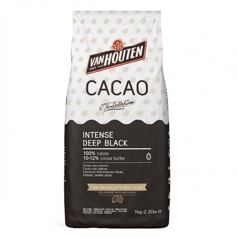 Cacao en polvo 100% Negro Intenso 1kg Callebaut
