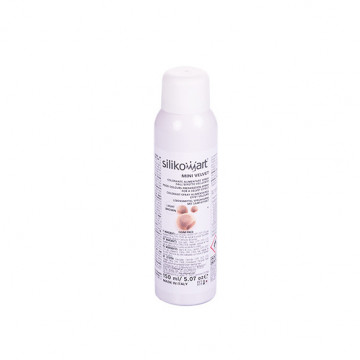Spray efecto terciopelo Marrón Claro 150 ml Silikomart