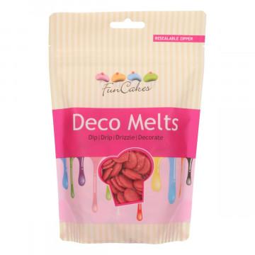 Candy Melts Rojo 250 gr Funcakes