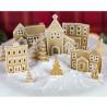 Molde de silicona Casas de Navidad Karen Davies
