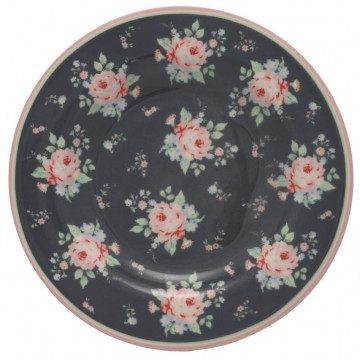 Plato de cerámica de 15 cm Marley Dark Grey Green Gate