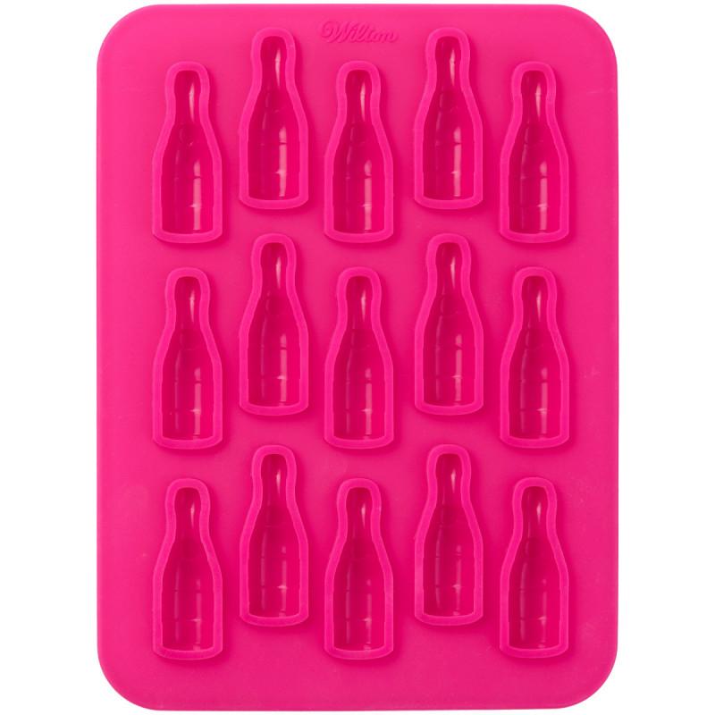 Molde de silicona Botellas de Champán Wilton