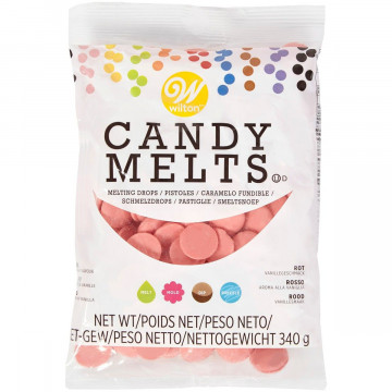 Candy Melts Rojo Wilton