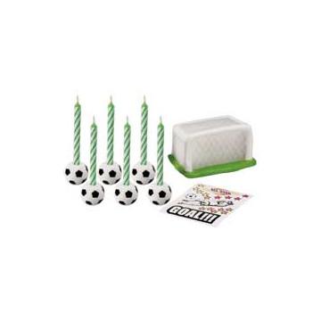 Set de velas y varios Fútbol Wilton